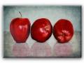 Stillleben mit Äpfeln klein