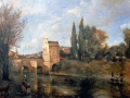 Die Brücke von Mantes (Kopie nach Camille Corot)
