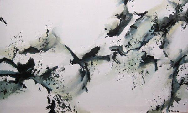 Irina Corona Abstrakte Acrylmalerei Artina Magazin