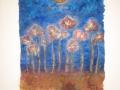 Vollmond über Mohnblumen 2001
