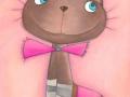 Pastellbild-Candy-Cat