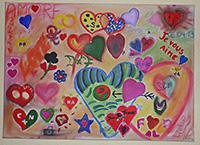 Hochzeitsspiel Gemeinschaftskunstwerk Alle Gaste Malen Ein Bild