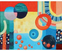 wie malt man abstrakte bilder mit acrylfarben artina magazin. Black Bedroom Furniture Sets. Home Design Ideas