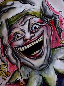 Joker Mischtechnik 70 x 100 cm