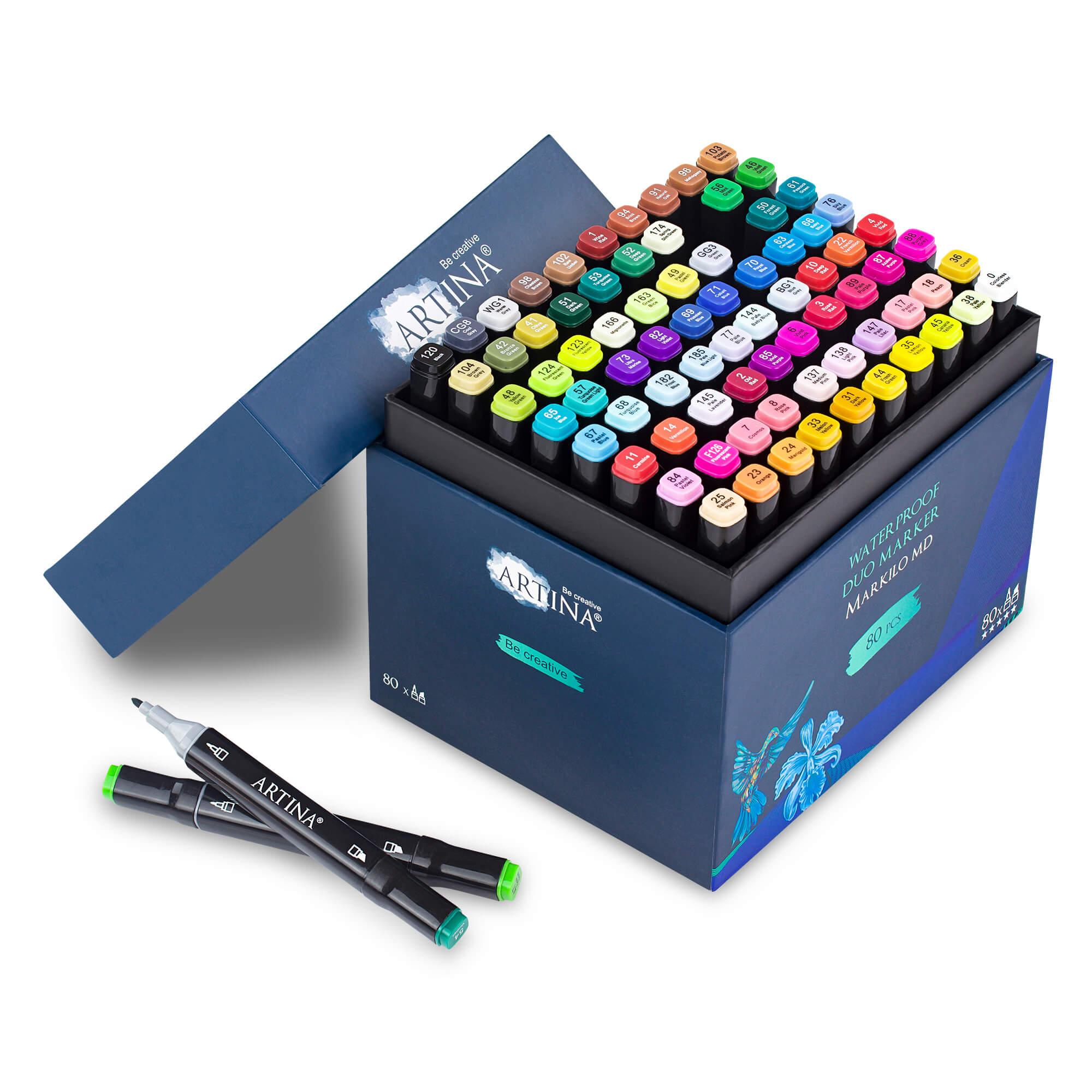 Artina Markilo Md Stifte Set Dual Stifte doppelseitig 3 und 6mm