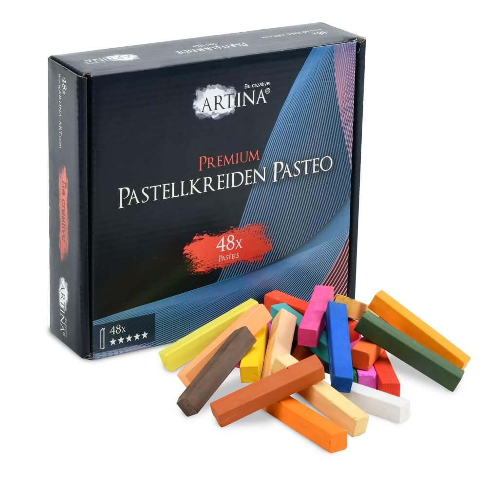 Artina 48x Premium Weichpastellkreide Pasteo