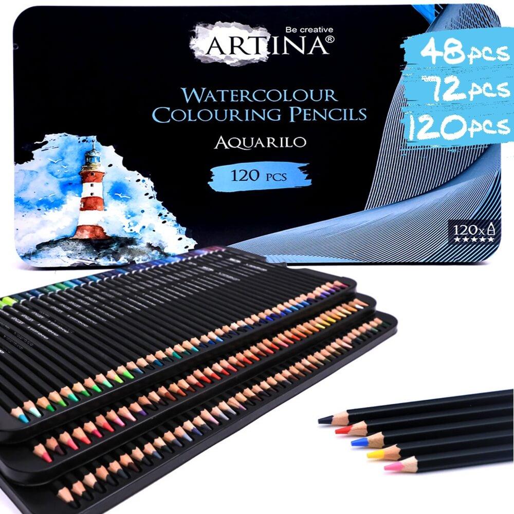Artina div. Sets Aquarell Buntstifte Aquarilo Farbstifte FSC® Zertifikat