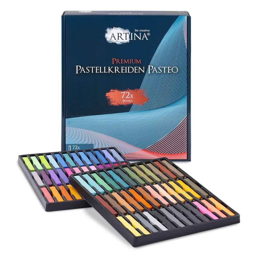 Artina 72x Premium Weichpastellkreide Pasteo