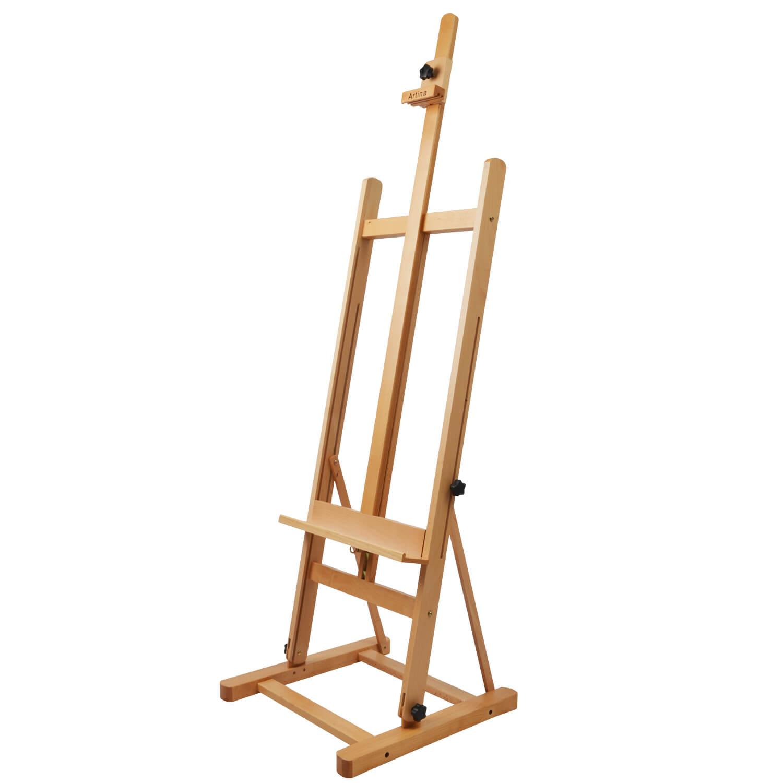 Artina Studiostaffelei Staffelei Siena klappbar aus Buchen-Holz
